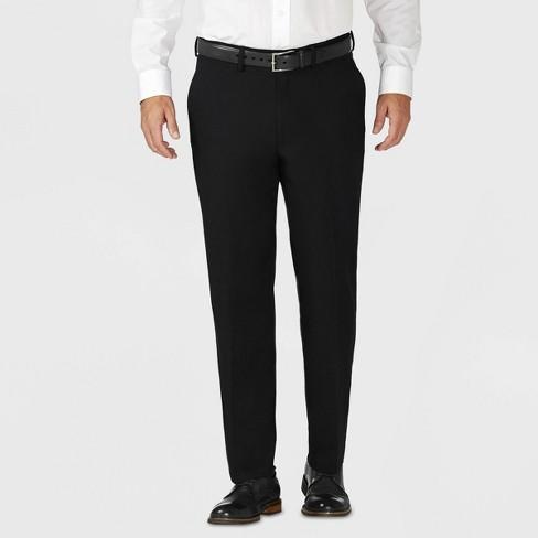 Haggar H26 Men's Tailored Fit Premium Stretch Suit Pants - image 1 of 4