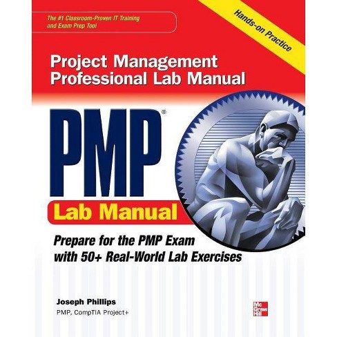 PMP Project Management Professional Lab Manual - by  Joseph Phillips (Paperback) - image 1 of 1