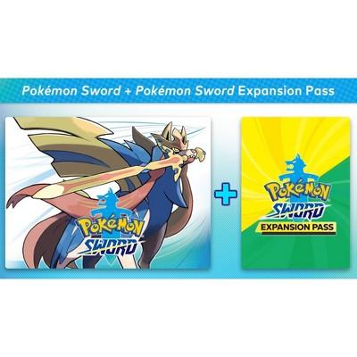 Pokemon Sword + Pokemon Sword Expansion Pass - Nintendo Switch (Digital)