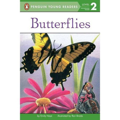 Butterflies - (Penguin Young Readers, Level 2) by  Emily Neye (Paperback) - image 1 of 1