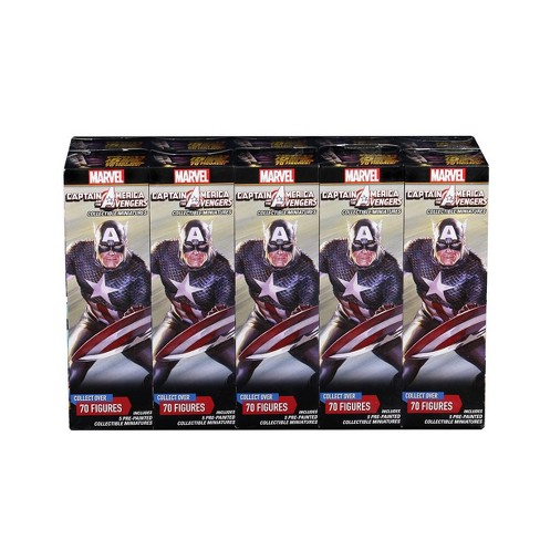 Captain America and the Avengers Booster Brick Miniatures Box Set - image 1 of 1