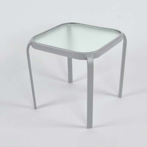 Glass Stackable Side Table - Room Essentials™ - image 1 of 1