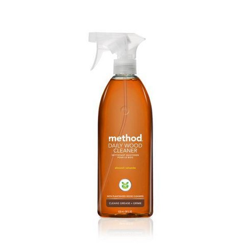 Method Cleaning Products Daily Wood Cleaner Almond Spray Bottle 28 fl oz - image 1 of 4
