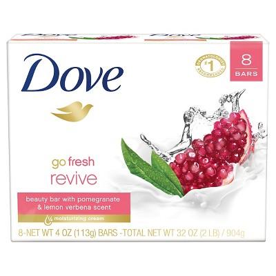 Dove go fresh Revive Beauty Bar 4 oz, 8 Bar