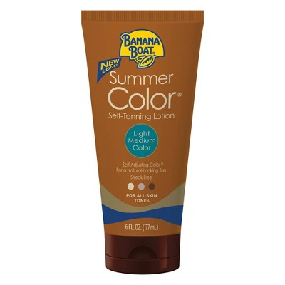 Sunscreen & Tanning: Banana Boat Summer Color Self-Tanner