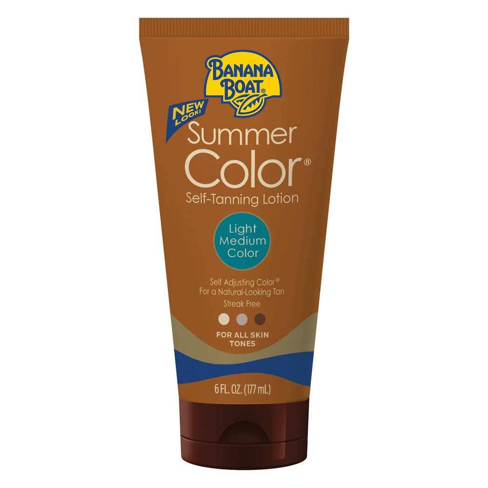 Image of Banana Boat Summer Color Self-Tanning Lotion - Light/Medium - 6oz