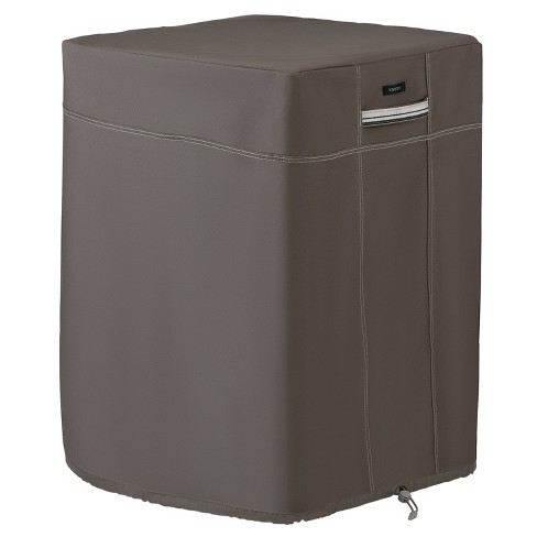 Ravenna Fire Column Cover Taupe - Classic Accessories - image 1 of 4