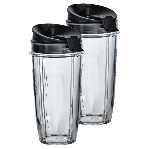 Two 24 oz. Tritan™ Nutri Ninja® Cups with two Sip & Seal Lids® - image 1 of 7