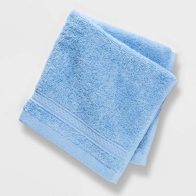 Soft Solid Washcloth Light Blue - Opalhouse™