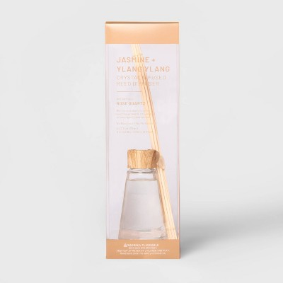 2.7 fl oz Oil Diffuser with Rose Quartz - Jasmine & Ylang Ylang - Project 62™
