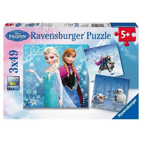 Ravensburger Disney Frozen: 3pk Adventures 147pc Puzzle - image 1 of 4