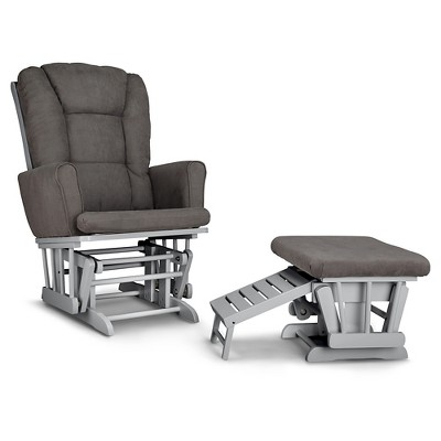 Graco® Glider And Ottoman Set - Pebble Gray/Gray