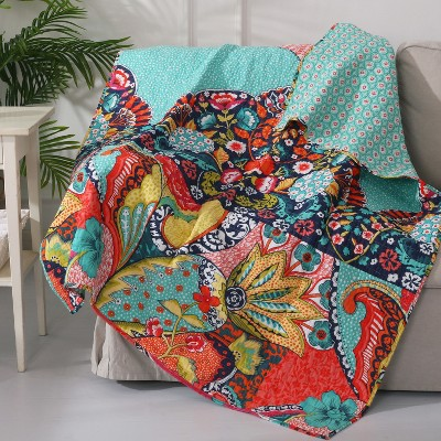 Jules Bohemian Quilted Throw - Levtex Home