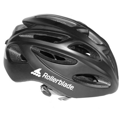 Rollerblade USA 069H0210100-L Heavy Duty Lightweight Unisex Skate Helmet with 18 Vents Large, Black