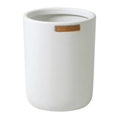 Beringer Wastebasket White - Allure Home Creations
