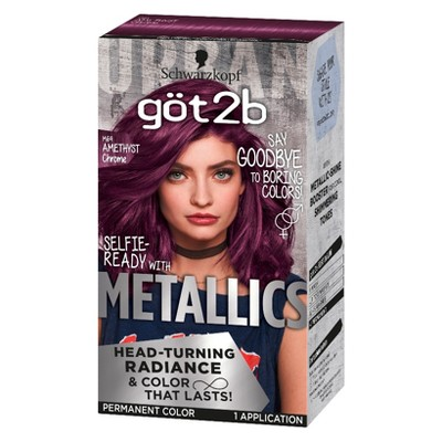 Got2B Color Metallic Permanent Hair Color