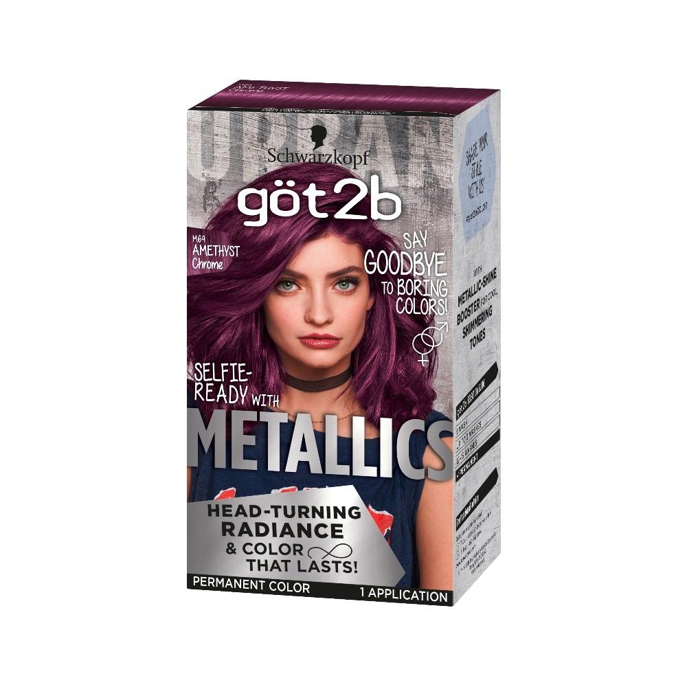 Image of Got2b Color Metallic Amethyst Chrome - 1 kit, Purple Grey