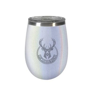 NBA Milwaukee Bucks Opal Wine Tumbler - 12oz