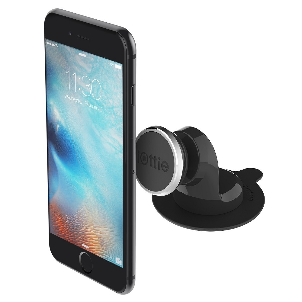 iOttie iTap Magnetic Dashboard Car Mount Holder, Black