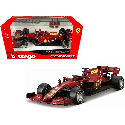 "Ferrari SF1000 #5 Sebastian Vettel Tuscan GP Formula One F1 (2020) ""Ferrari's 1000th Race"" 1/43 Diecast Model Car by Bburago"