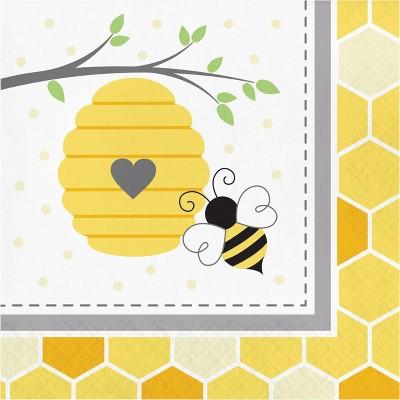 Bumblebee 48ct Baby Shower Napkins