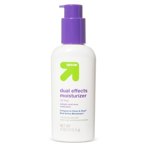 Action Moisturizer 4oz - Up&Up™ (Compare to Clean & Clear Dual Action Moisturizer) - image 1 of 1