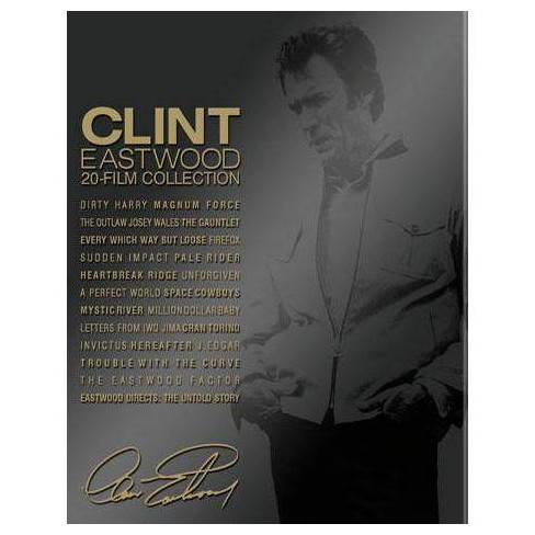 Clint Eastwood: 20-film Collection (Blu-ray)