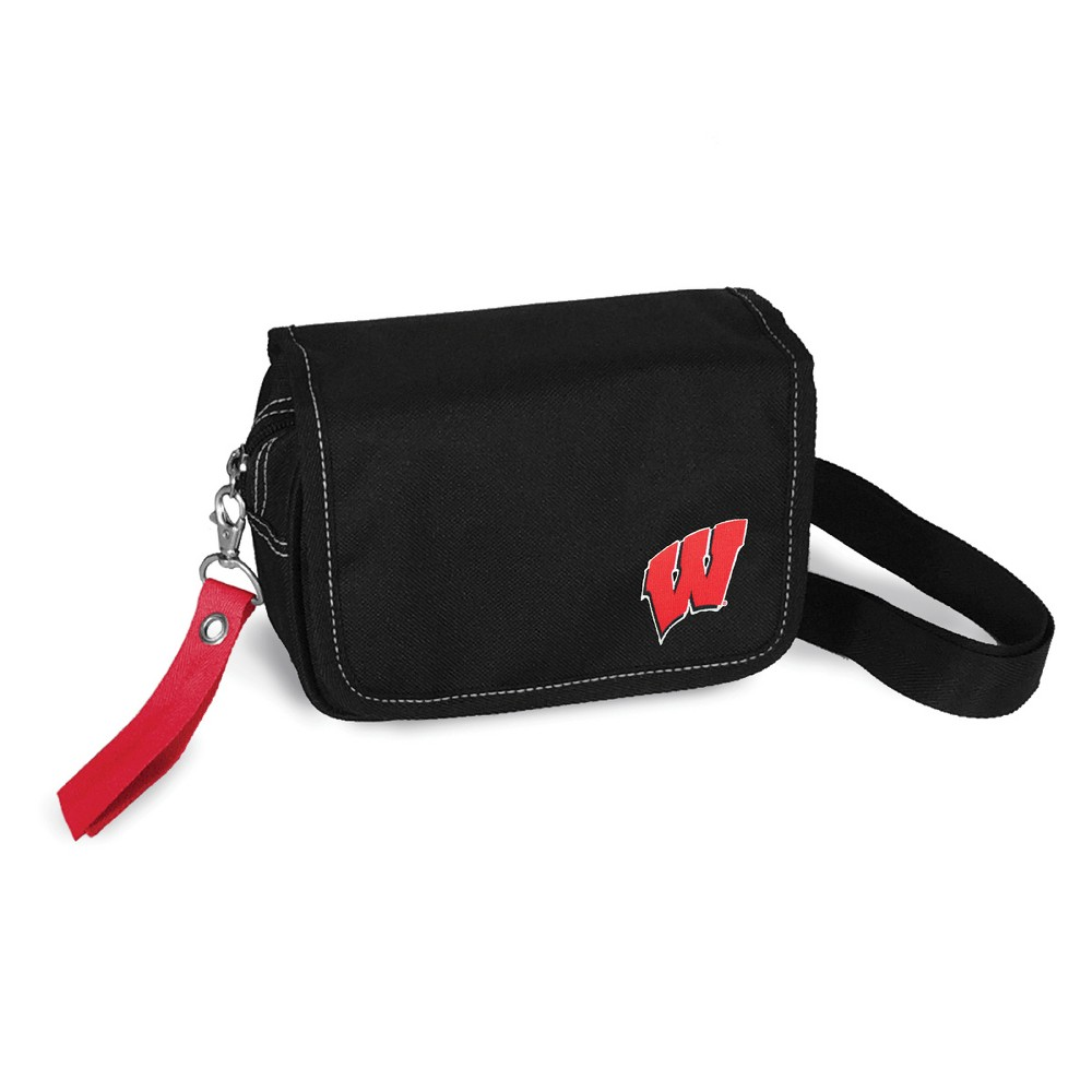 NCAA Wisconsin Badgers Little Earth Ribbon Waist Pack Purse
