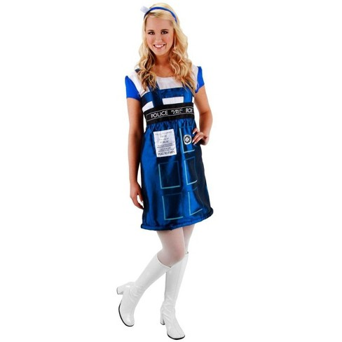 Elope Dr. Who TARDIS Dress Costume Adult - image 1 of 1