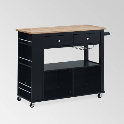 Cato Kitchen Cart - Christopher Knight Home