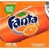 Fanta Orange Soda - 12pk/12 fl oz Cans - image 2 of 4