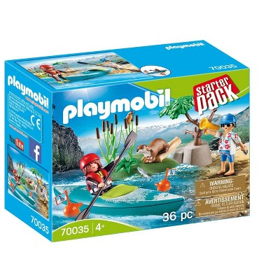 Playmobil Starter Pack Kayak Adventure