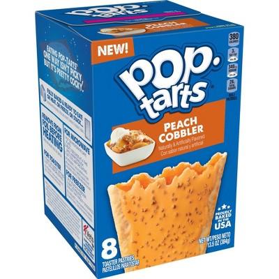 Pop-Tarts Peach Cobbler Toaster Pastries - 8ct - Kellogg's
