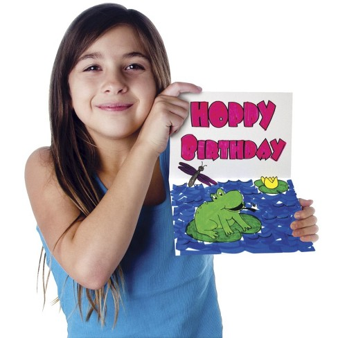 Pacon Color-Your-Own Kids' Birthday Cards, 20 pc - image 1 of 3