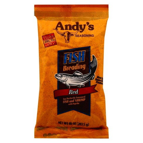 Andy's Fish Breading Red - 10oz - image 1 of 3