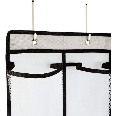 Okuna Outpost 2 Pack Over The Door Hanging Shoe Organizer, 24 Pockets (22 x 56 in)