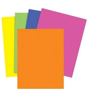 MyOfficeInnovations Brights 24 lb. Colored Paper Neon Assorted 500/Ream 733097