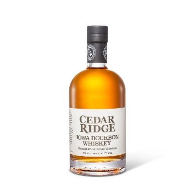 Cedar Ridge Iowa Bourbon Whiskey - 750ml Bottle