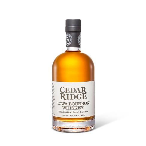 Cedar Ridge Iowa Bourbon Whiskey - 750ml Bottle - image 1 of 1
