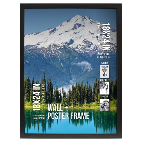 "Poster Frame 1"" Profile - Gray - (18""x24"") - image 1 of 3"