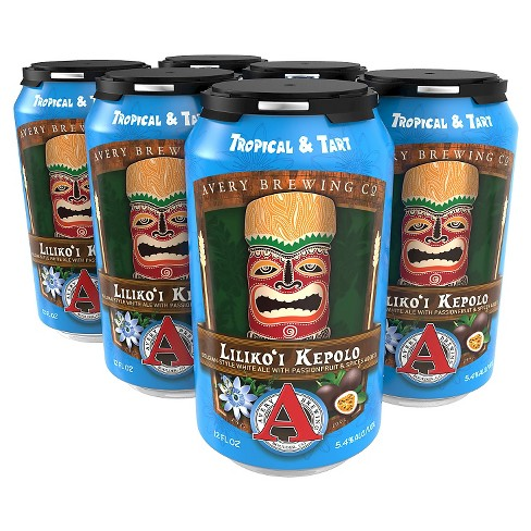 Avery® Lilikoi Kepolo - 6pk / 12oz Cans - image 1 of 1
