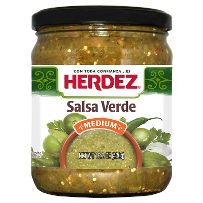 Salsas & Dips: Herdez Salsa Verde