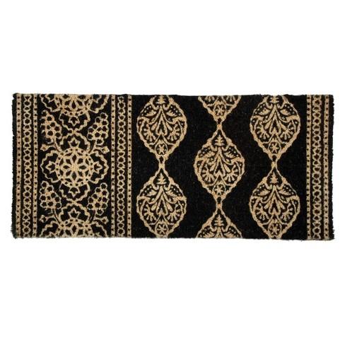 """TAG 1'6"""" x 3'3"""" Henna Estate Coir Doormat Indoor Outdoor Welcome Mat - image 1 of 3"""