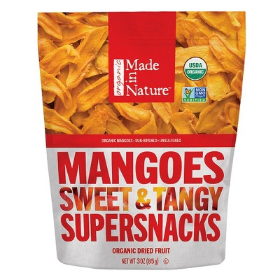 Dried Fruit & Raisins: Made in Nature Mangoes