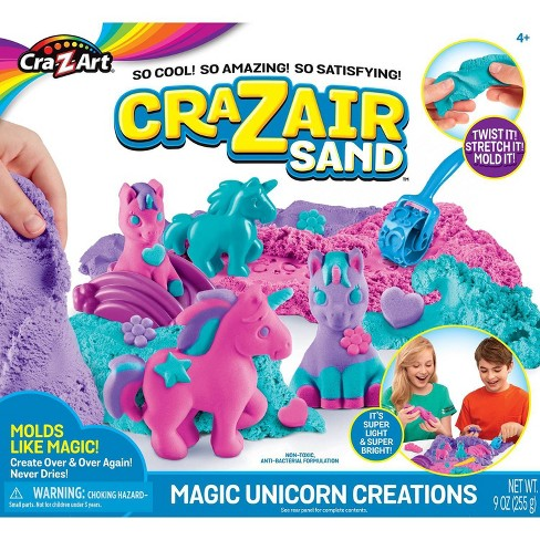 CraZArt  CraZAir Sand - Magical Unicorn Creations Play Set - image 1 of 4