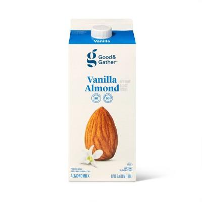 Vanilla Almond Milk - 0.5gal - Good & Gather™
