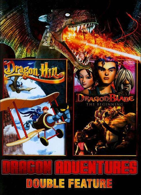 Dragon adventures:Double feature (DVD) - image 1 of 1
