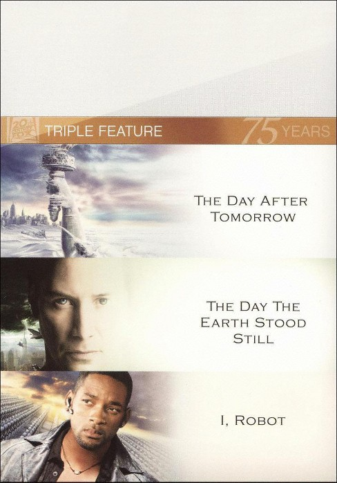 The Day After Tomorrow/I, Robot/The Day the Earth Stood Still (3 Discs) (Widescreen) - image 1 of 1