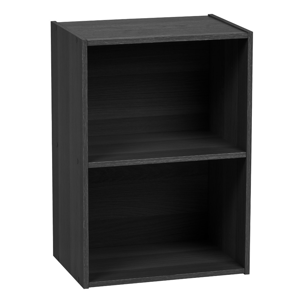 Image of IRIS 2-Tier Storage Shelf, Black