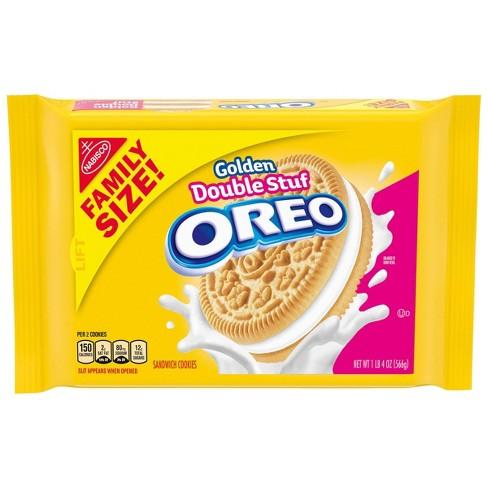 Golden Oreo Mega Stuff Sandwich Cookies - Family Size - 20oz - image 1 of 4